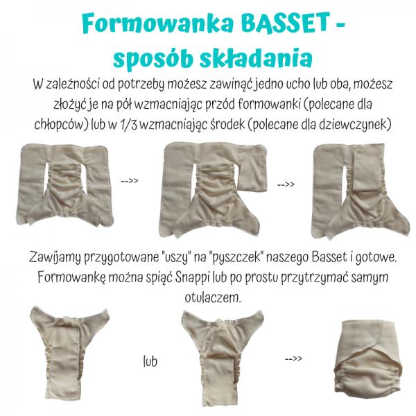 Formowanka Basset rozmiar Newborn